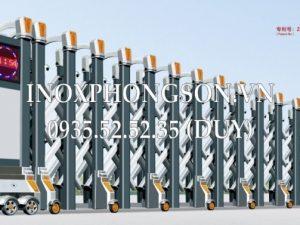 Cổng Xếp Inox Nhập Khẩu PS-1719
