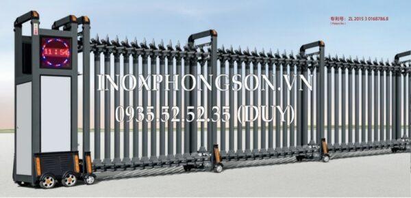 Cửa Cổng Xếp Nhôm PS-1723