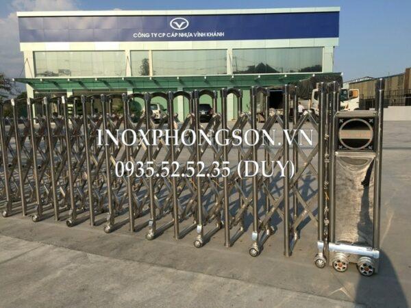 Cổng Điện Inox PS-13