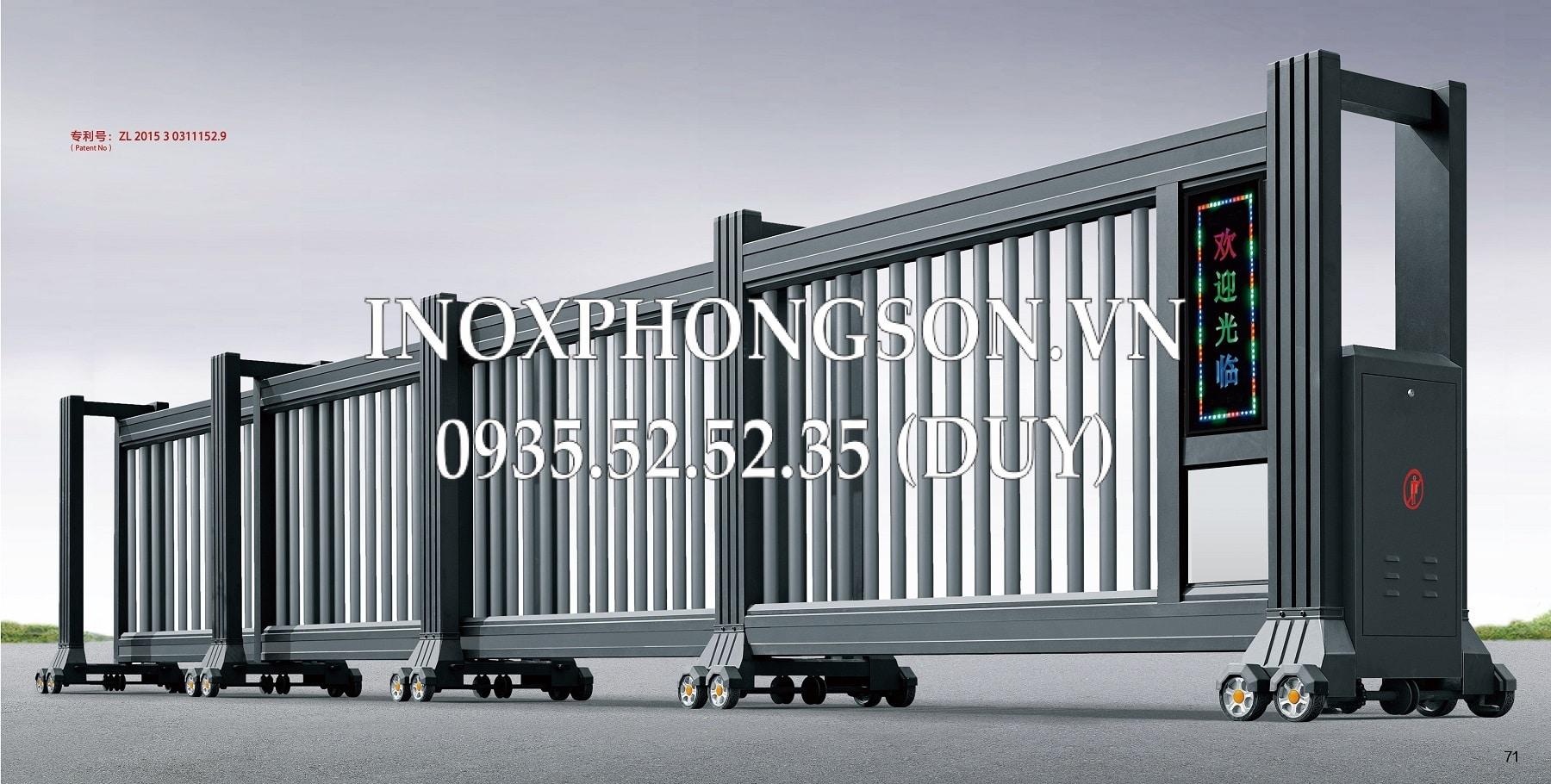 Cửa Cổng Lùa CL-04