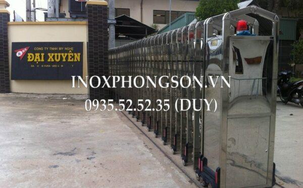 Cửa Cổng Xếp Inox PS-23