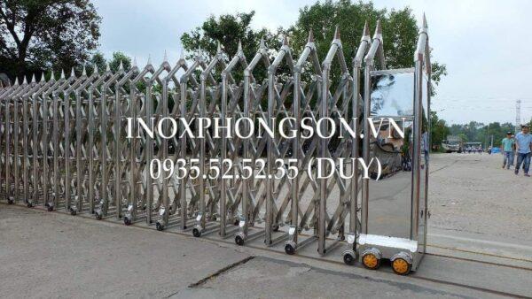 Cửa Cổng Xếp Inox PS-26