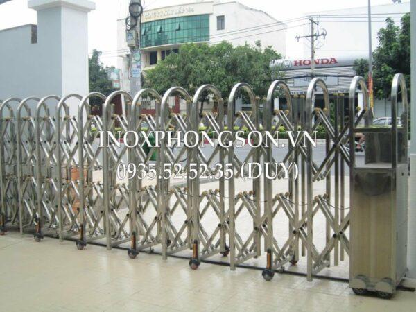 Cổng Xếp Inox PS-06