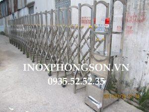 Cửa Cổng Xếp Inox PS-01