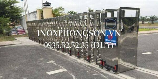 Cửa Cổng Xếp Inox PS-24