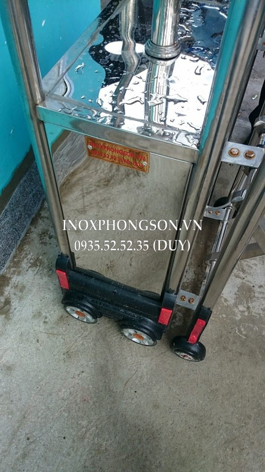 Cổng Xếp Inox 304 cho Bệnh viện Đa khoa Quảng Nam