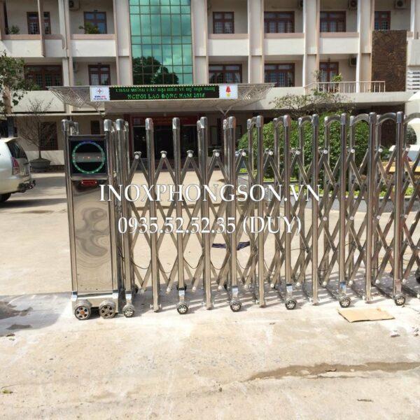 Cổng xếp Inox 304 – Inox Phong Sơn – 0 ...