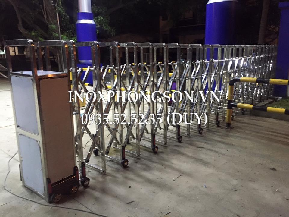 Cổng Xếp Điện Tự động cho Công ty Bia Việt Nam (BVL) tại Đà Nẵng