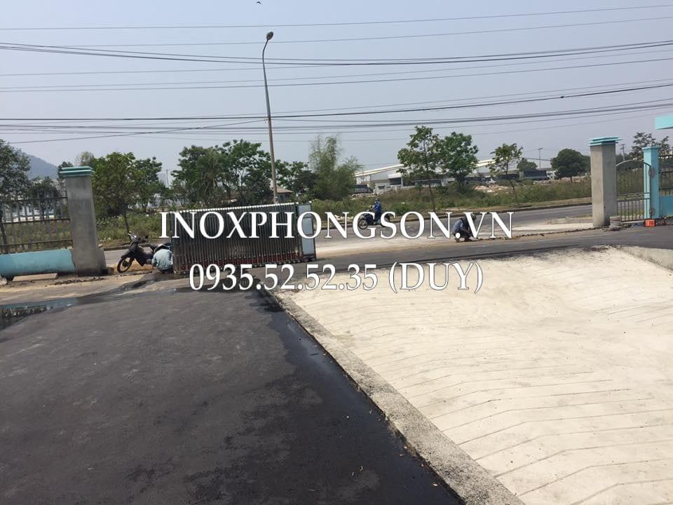 Thi công Cổng xếp cho Công ty Dược phẩm Đông Á - KCN Hòa Khánh, Đà Nẵng