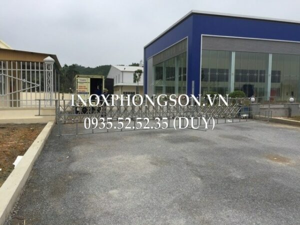 Cửa Cổng Xếp Inox Nghệ An – Công trình  ...