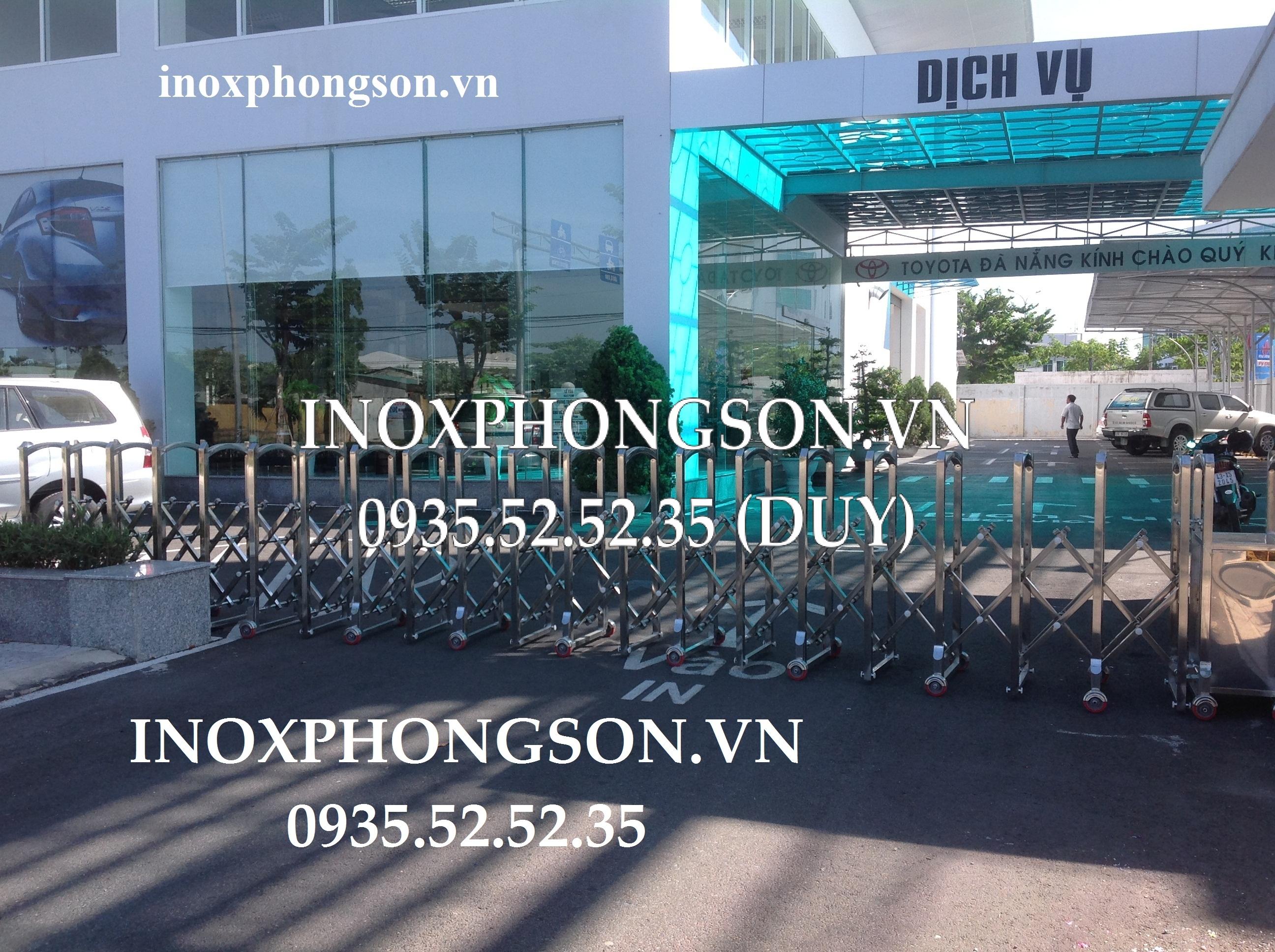 Cửa Cổng Xếp Việt Nam ở Công ty Toyota Đà Nẵng