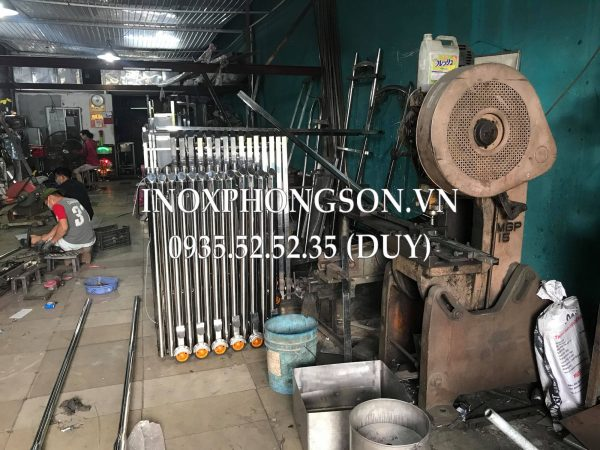 Máy móc chuyên dụng Uốn ống làm Cổng Xếp