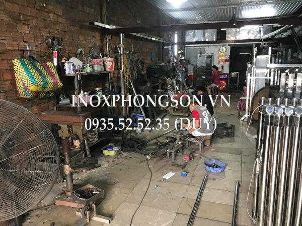 Xưởng sản xuất Cổng Xếp tại Đà Nẵng