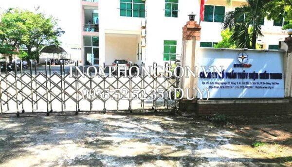 Thi công Cổng Xếp tại Đà Nẵng cho Công ty C ...