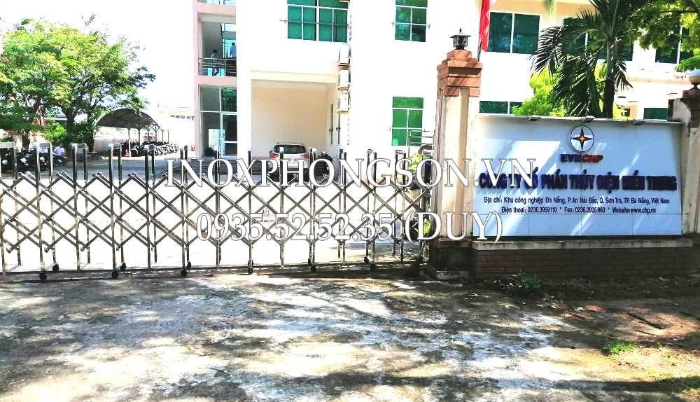 cổng xếp đà nẵng - công ty cp thủy điện miền trung