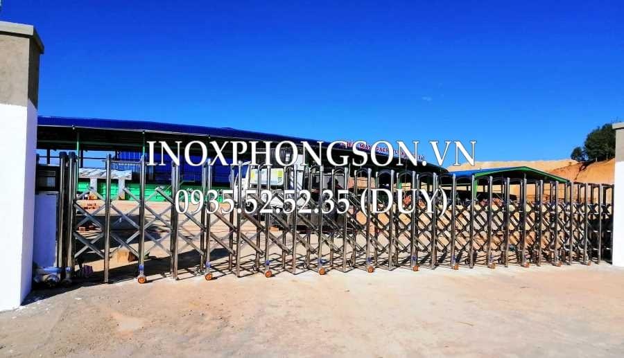 Cổng xếp Kon Tum - Nhà máy gạch Tuynel Đức Bảo