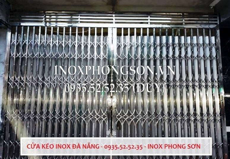 Cửa Xếp Inox Đà Nẵng